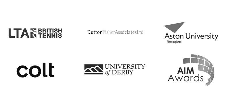 logos of elearning companies uk